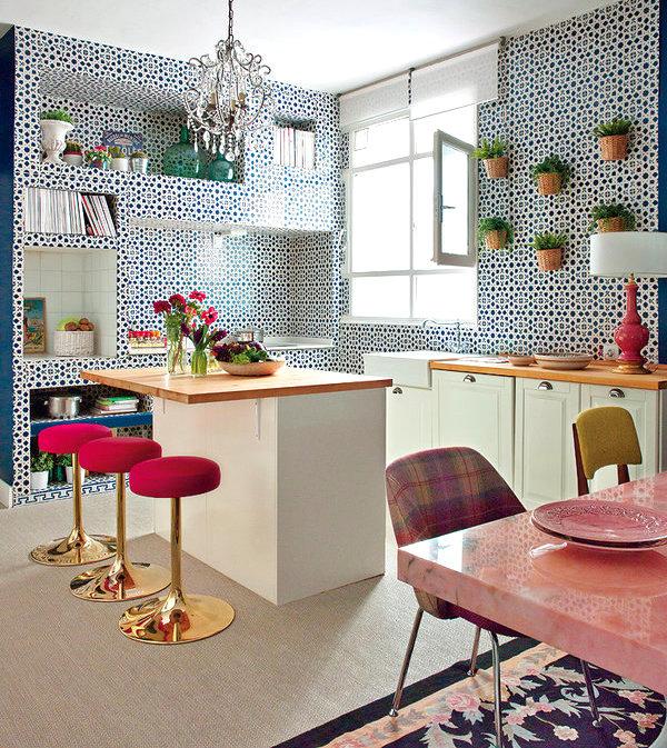 Miriam Alia Living Pink Home Kitchen