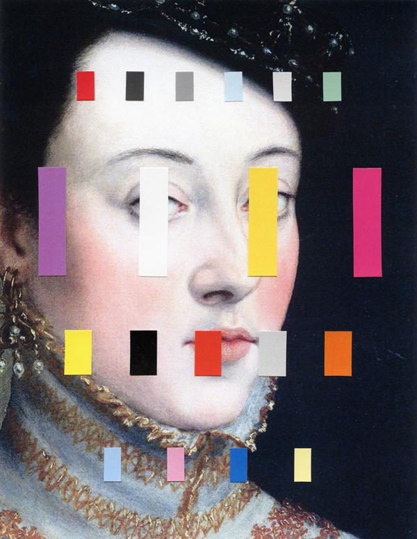 Portrait With A Spectrum Chad wys
