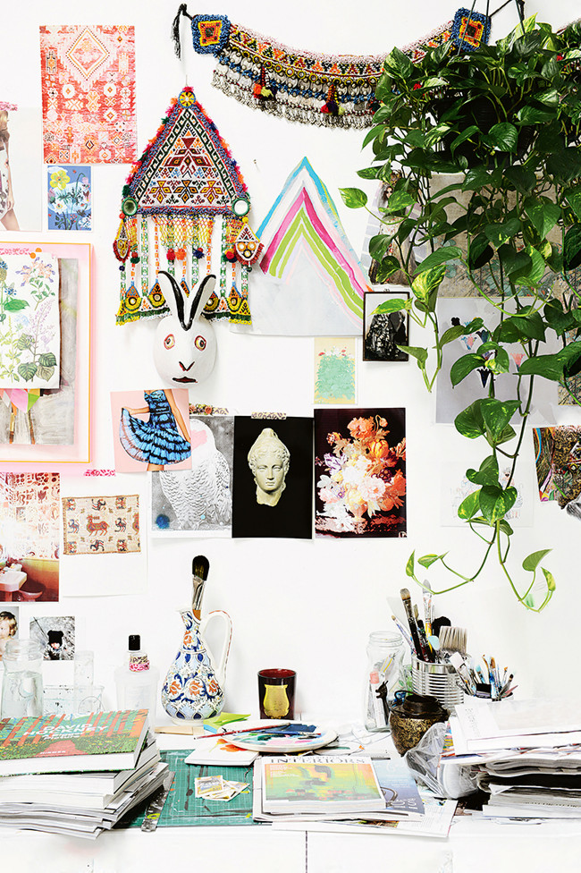 Gallery wall in Miranda Skoczek's Home
