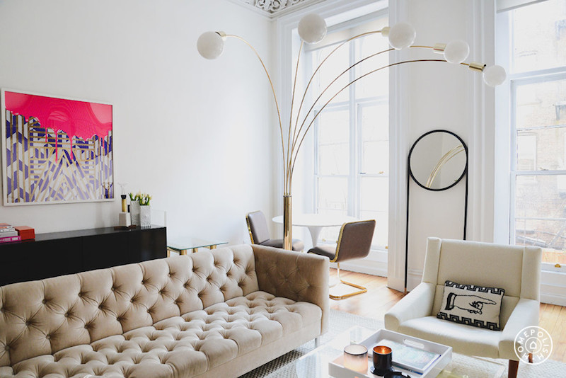 {styled space} An Eclectic, Retro West Village Apartment