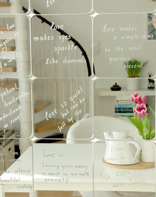 Do It Yourself Home Design: 10 Times Text Written On Mirrors Was Beautifully Done