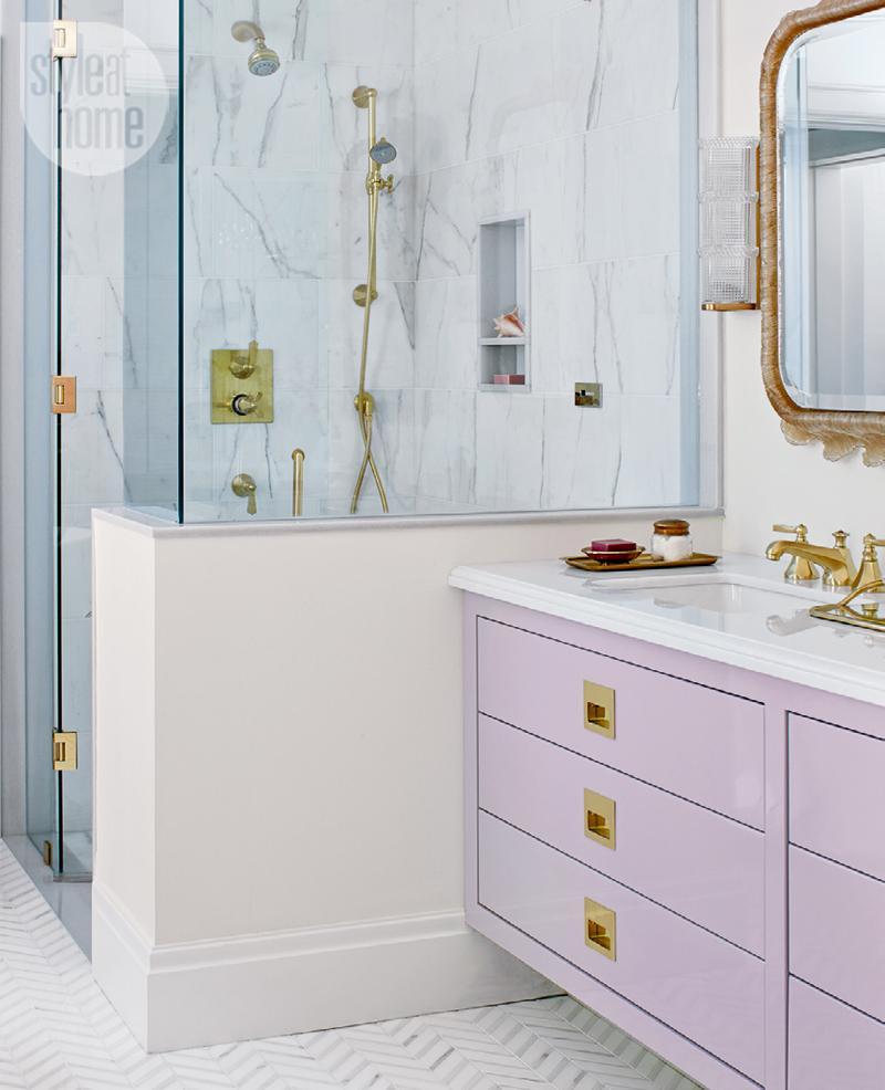 Tara Fingold bathroom shower