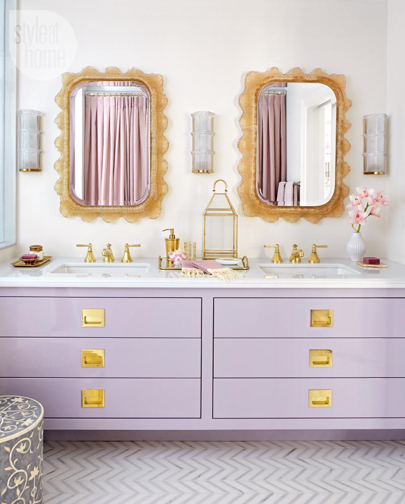 Tara Fingold bathroom sink