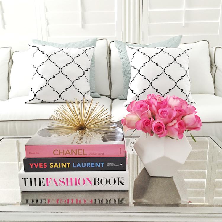 Fashion coffee table books via Stylish Petite