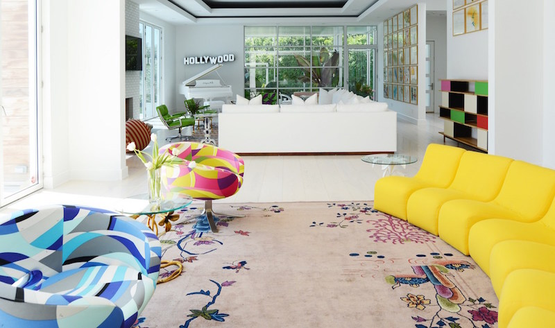 A Colorful, Seaside Home in the Hamptons Designed by Sasha Bikoff