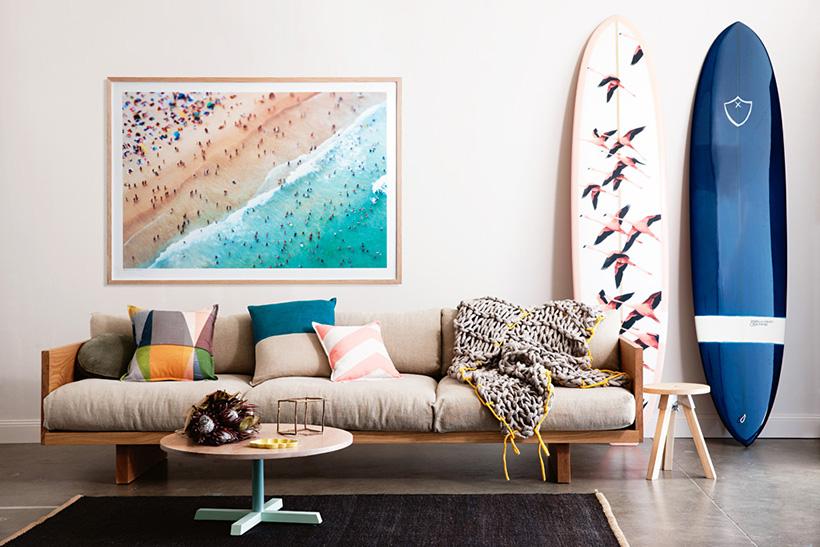 Surfboard Decor