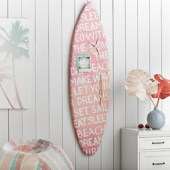 Surfboards That Work Perfectly Beach Chic Decor