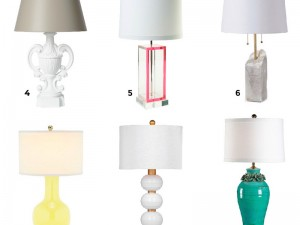 12 Darling Table Lamps for Any Room!