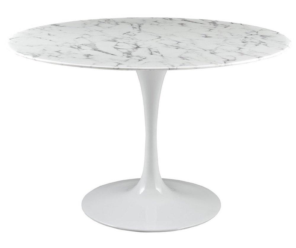 White marble dining table 10 white marble dining tables you ll adore white marble top dining - White marble dining tables ...