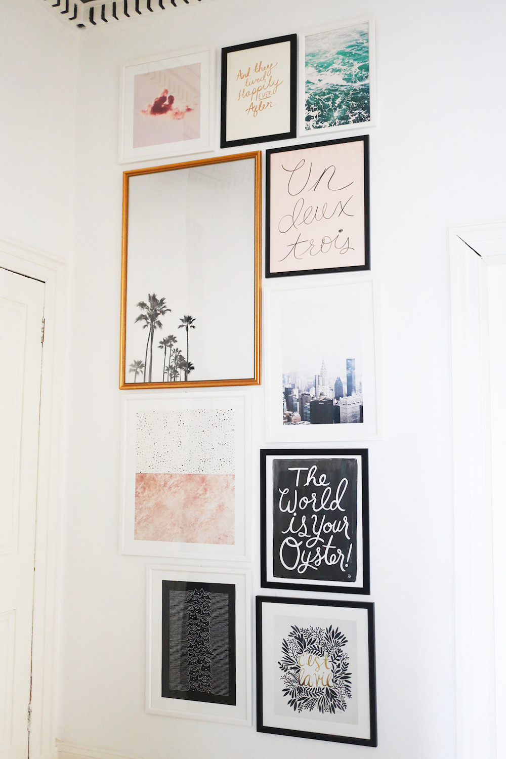 Wall Decor in Kate La Vie's Apartment