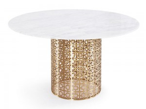 10 White Marble Dining Tables You'll Adore