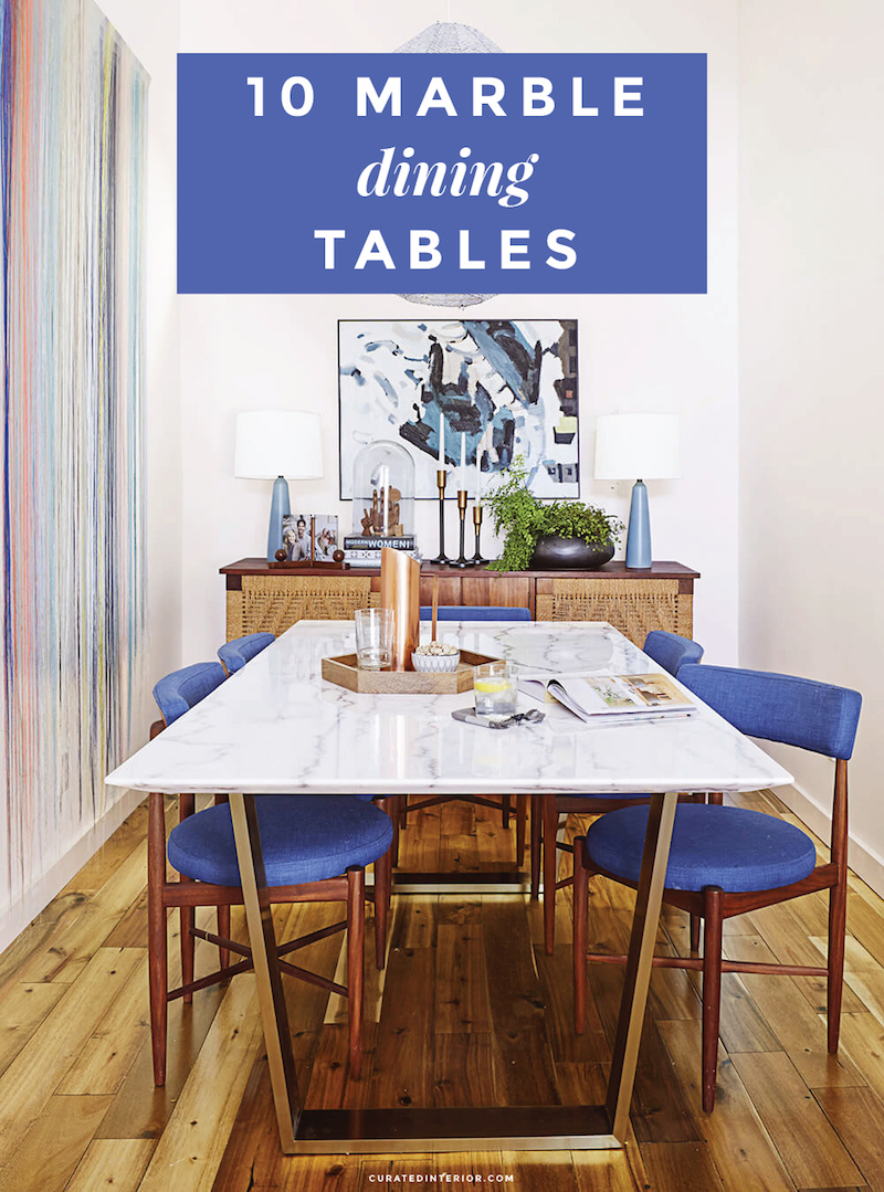 10 Marble Dining Tables