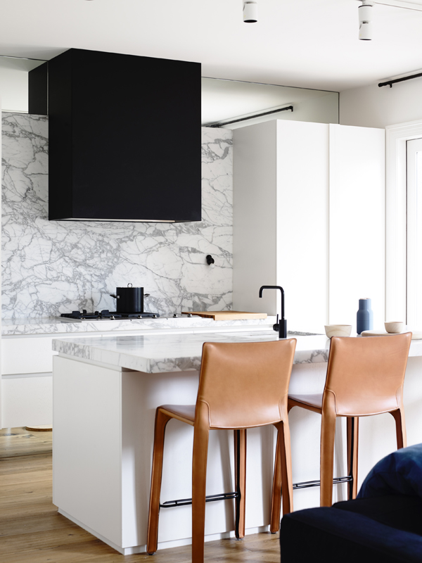 Marble Kitchen via Astra Walker