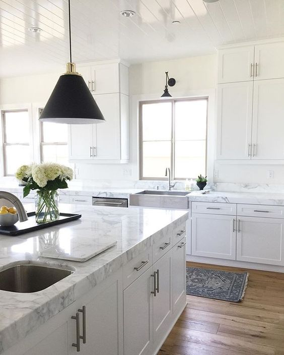 Marble Kitchen by Becki Owens