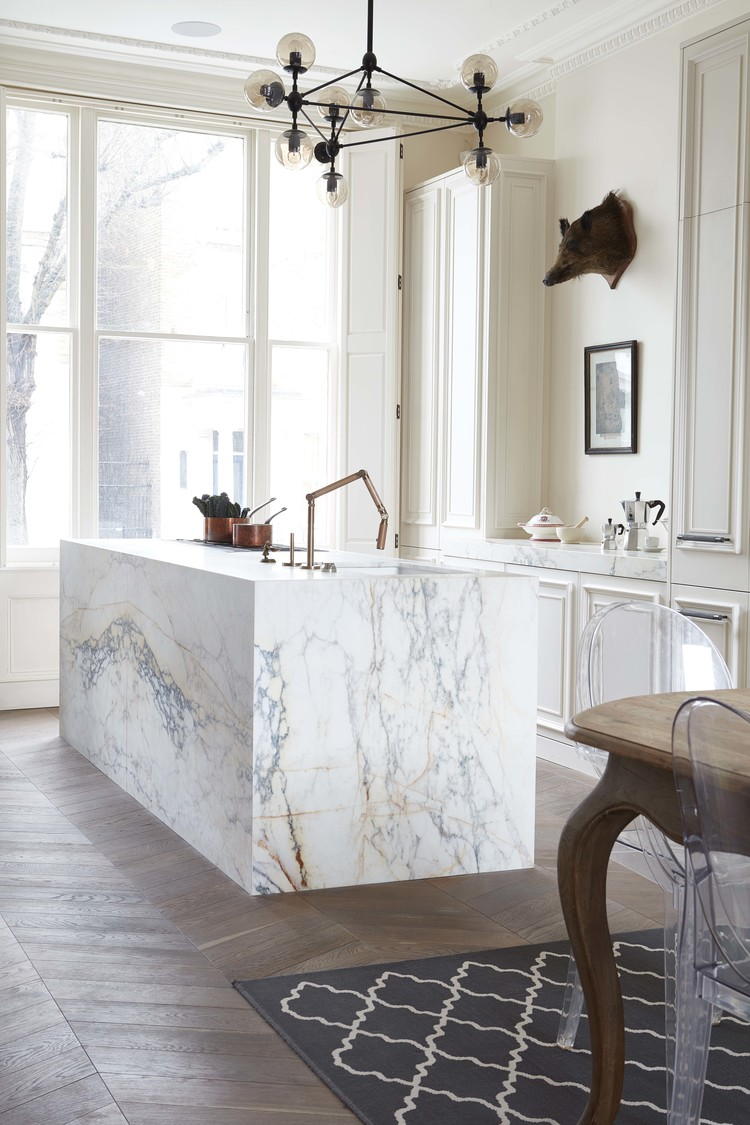48 Marble Kitchens That Are Beyond Gorgeous
