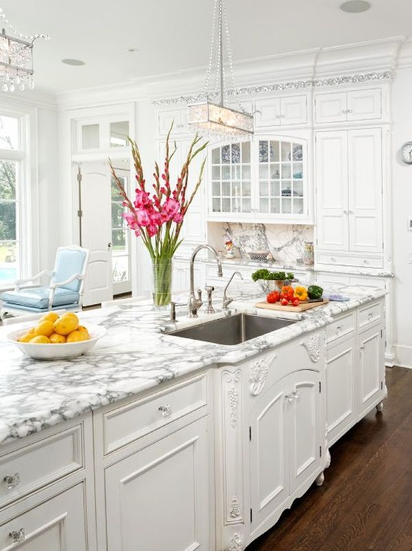 Marble Kitchen by Bradford Design