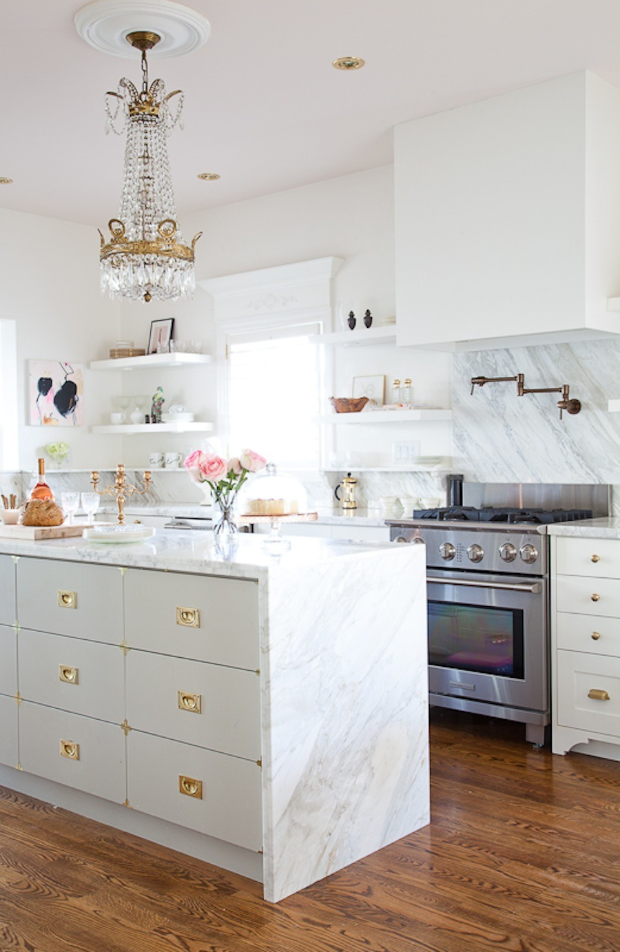 Marble Kitchen by Christine Dovey
