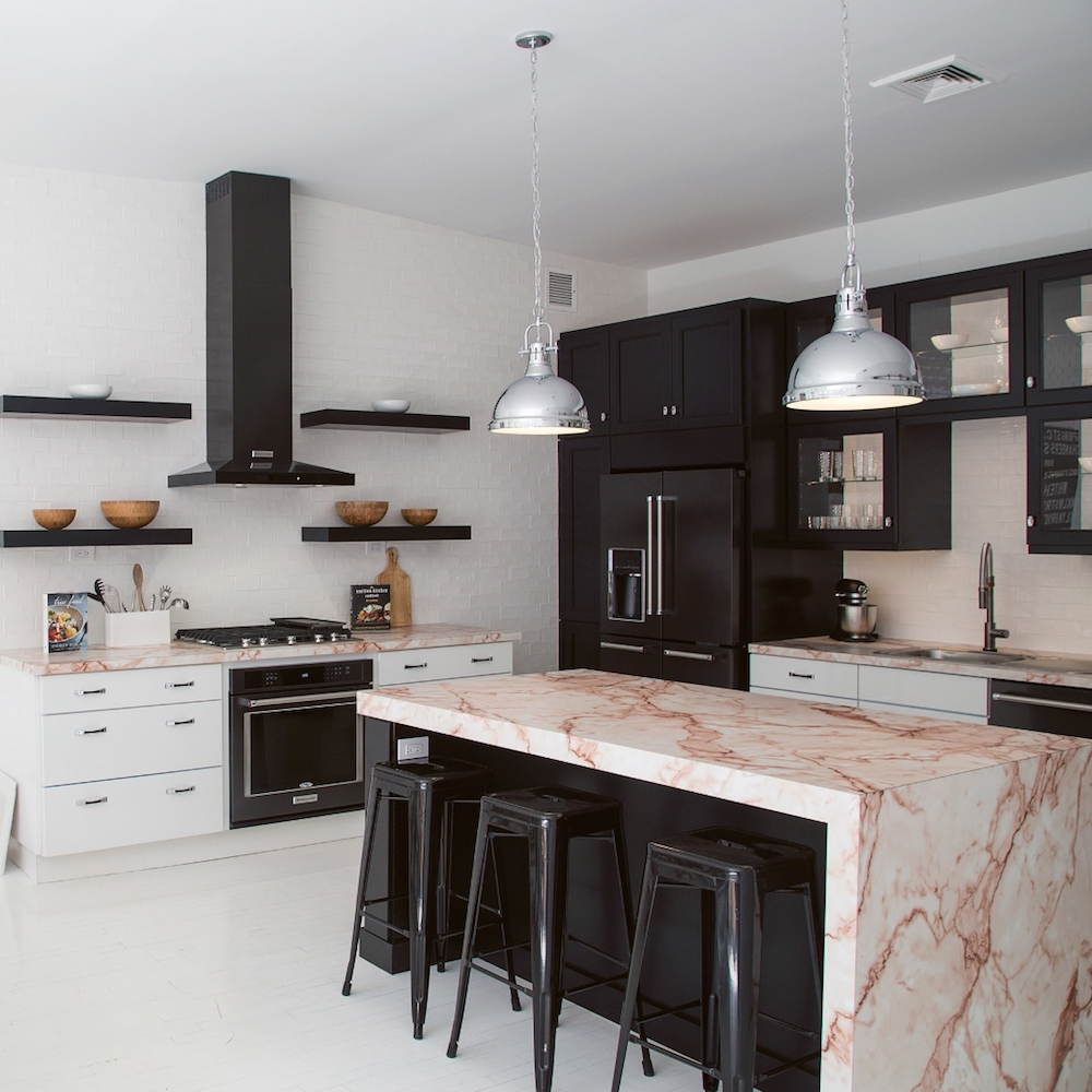 Elevated Design Collective Marble Kitchen