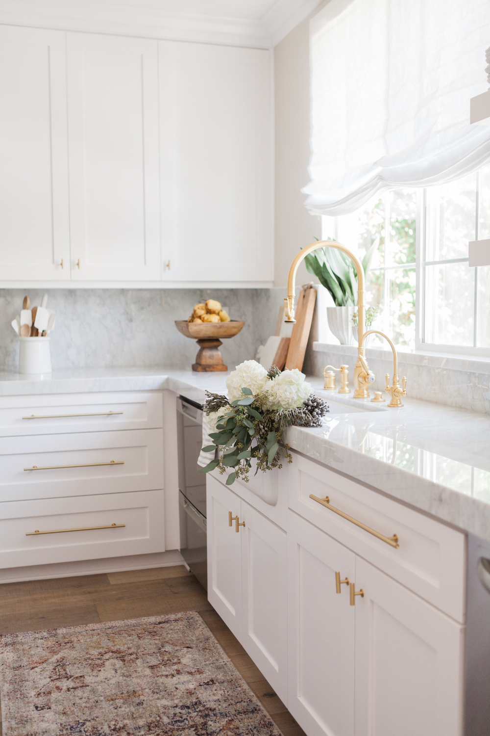 Marble Kitchen by Nicole Davis