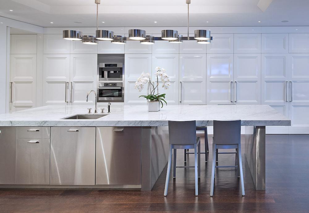 Marble Kitchen via St. Charles of New York