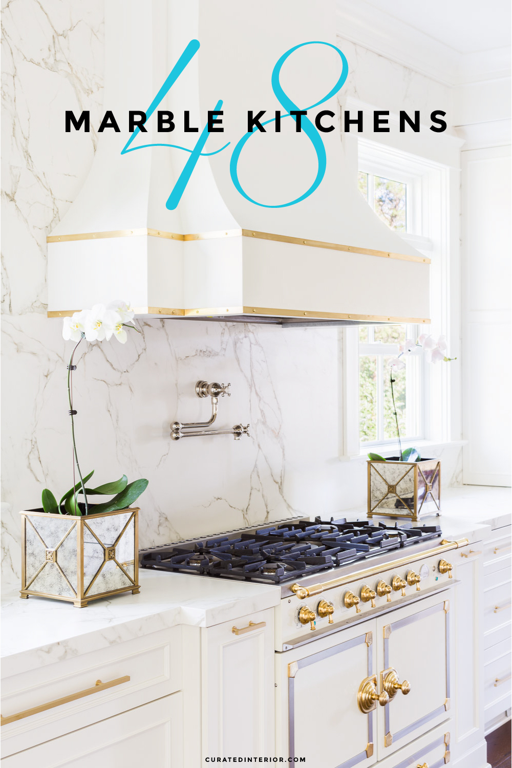 Gorgeous Marble Kitchens