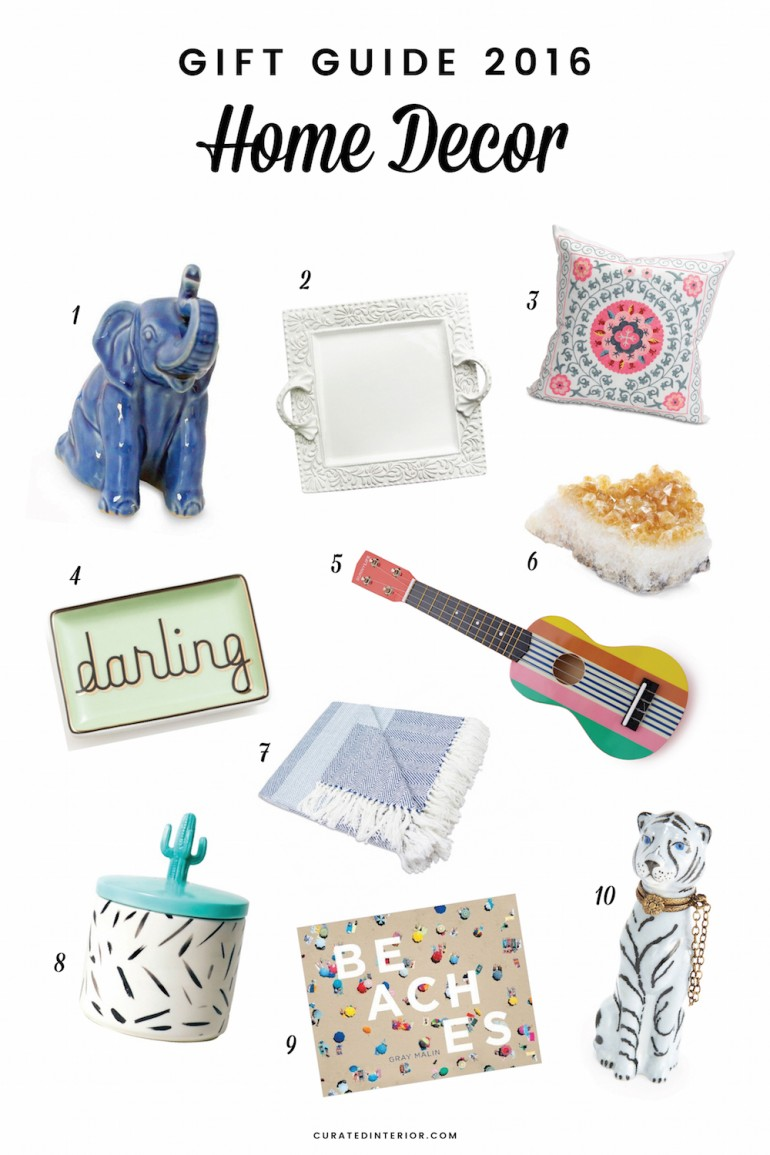 gift guide 10 home decor gifts for 2016