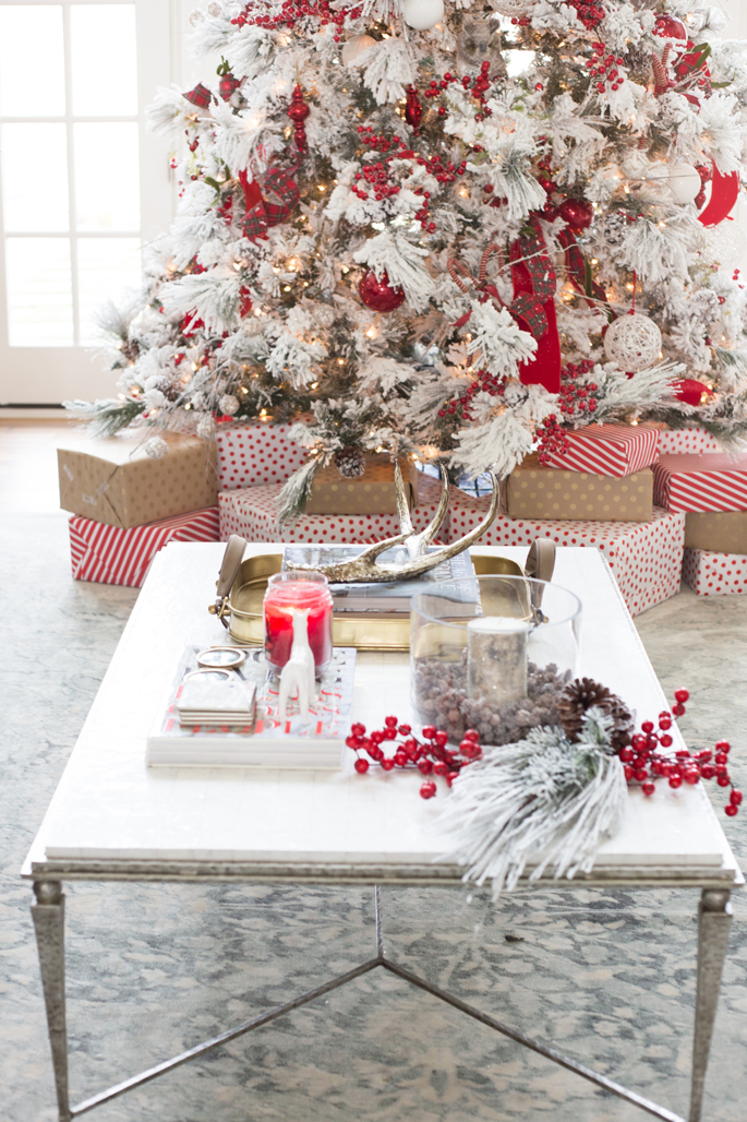 Winter White Amp Holiday Red Two Christmas Decor Themes