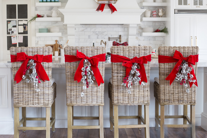 A Red Christmas styled by Rach Parcell