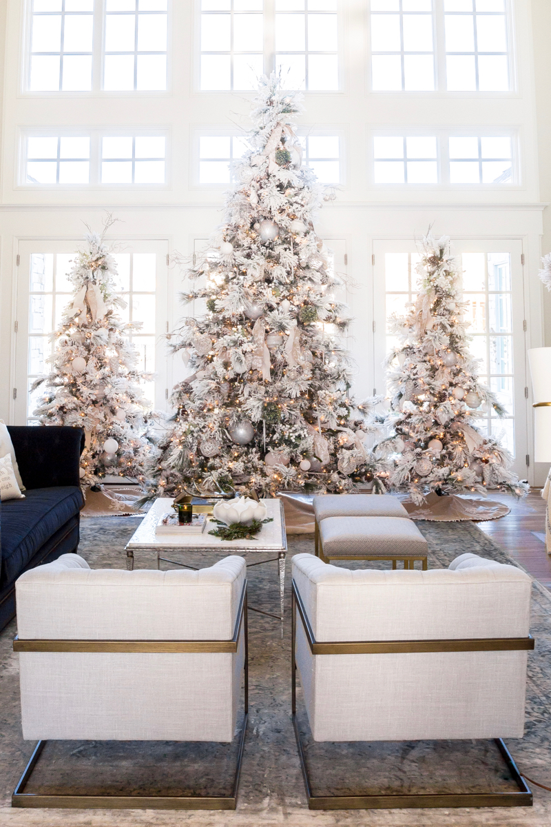 Winter White & Holiday Red: Two Christmas Decor Themes ...