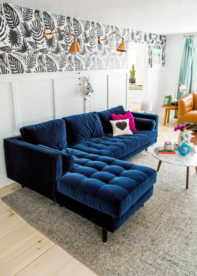 blue sofas living room 25 stunning living rooms with blue velvet sofas 15248