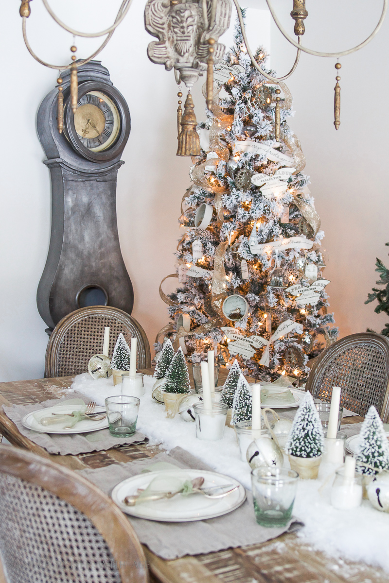 Christmas Home Tour Dining Room via So Much Better With Age