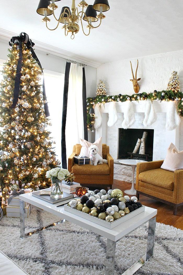 Christmas Home Tour via Bliss At Home