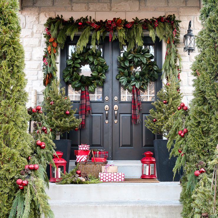 Lovely Christmas Porch