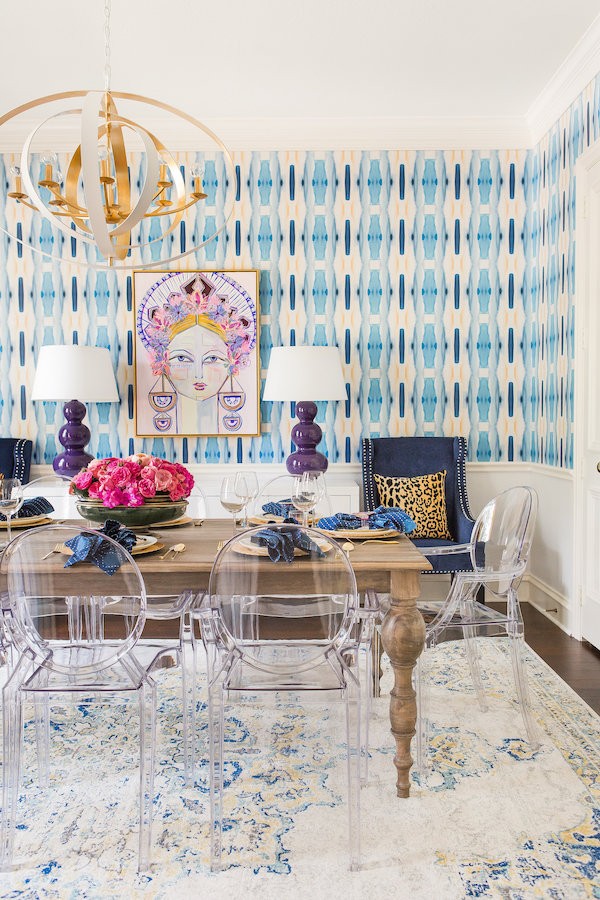Colorful Texas Dining Room