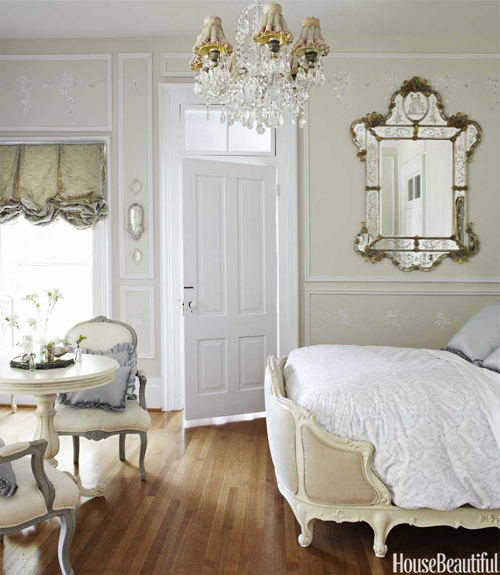 European Vintage Bedroom