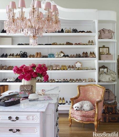 European Vintage Glamorous Closet