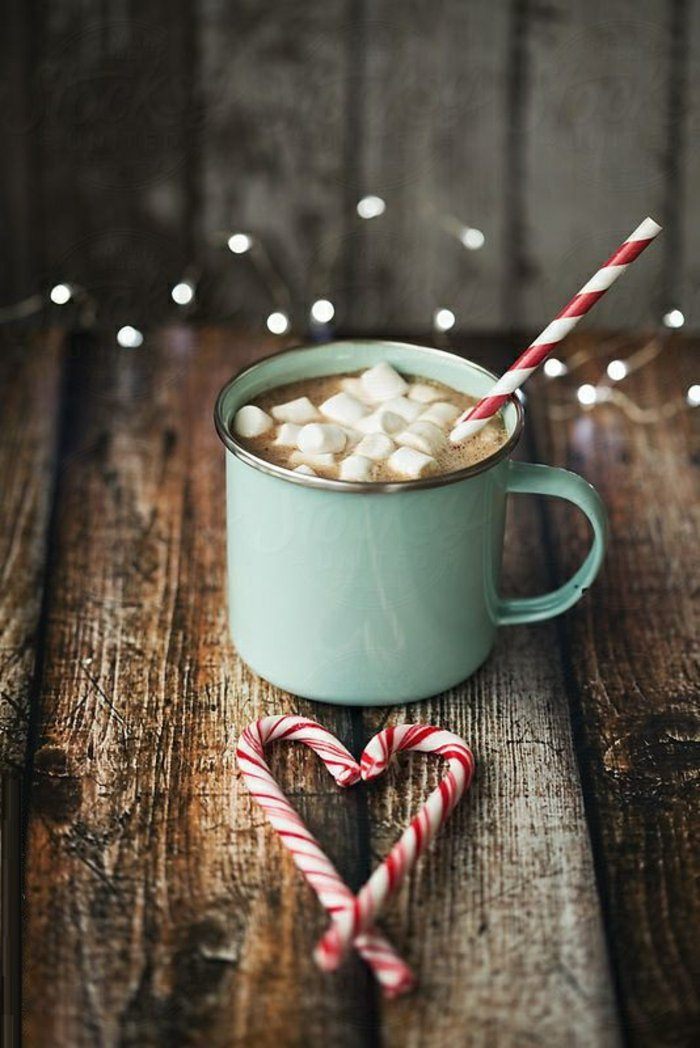 Hot Chocolate and Peppermint