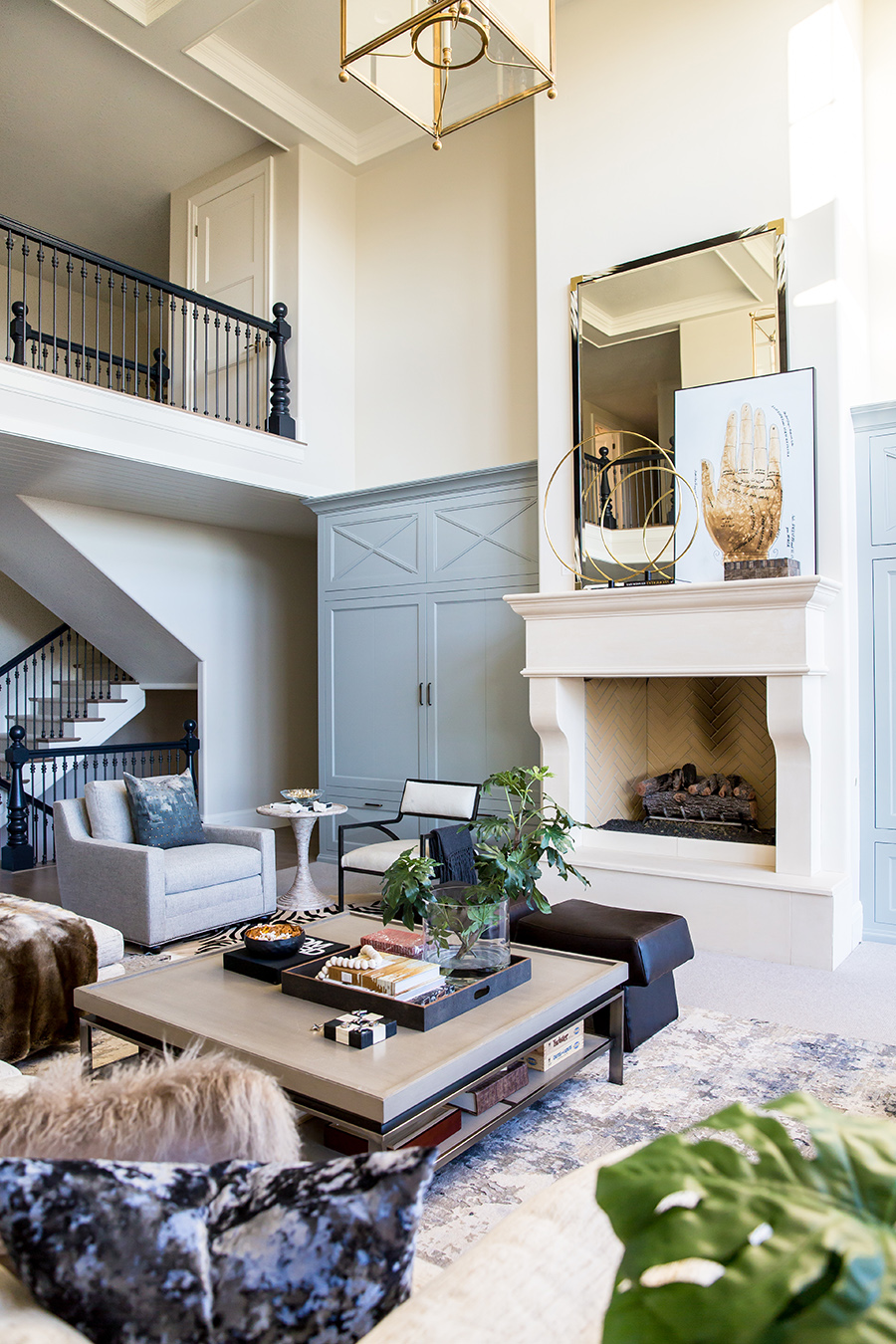 Styled space emily jackson of the ivory lane 39 s beautiful Transitional contemporary