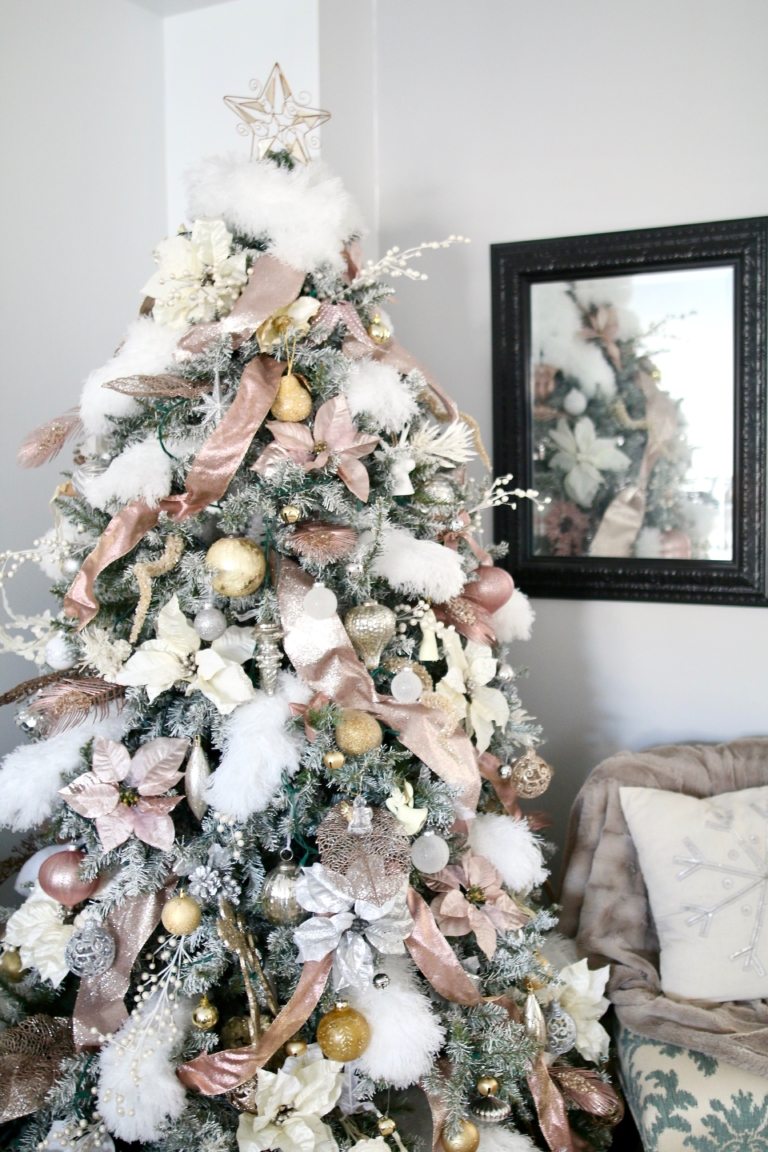 Light Pink Christmas Tree