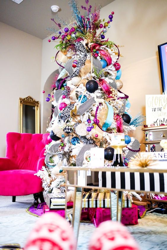 12 Unique & Colorful Christmas Trees You'll Absolutely Love!