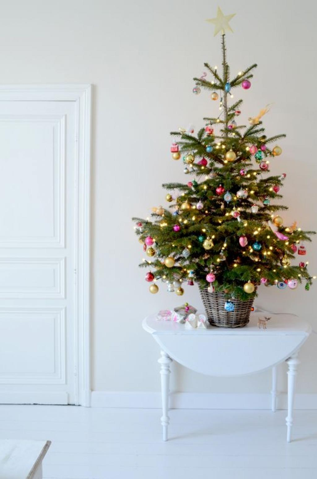 Pastel Multi-Color Christmas Tree