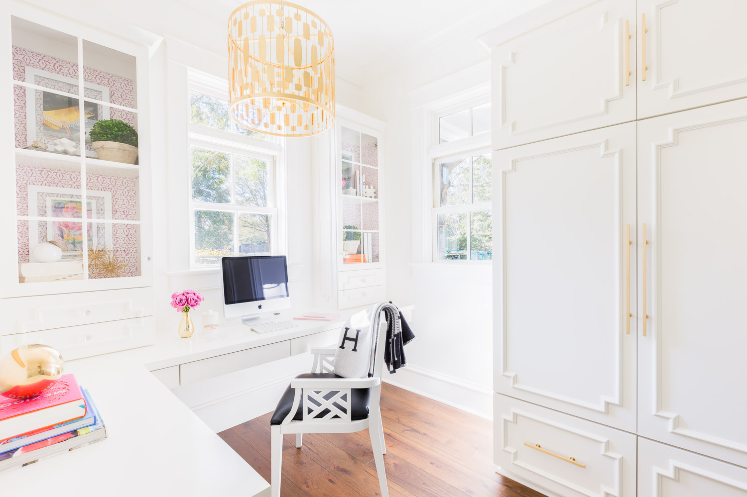Office design by Laura Burleson / Photo by Alyssa Rosenheck