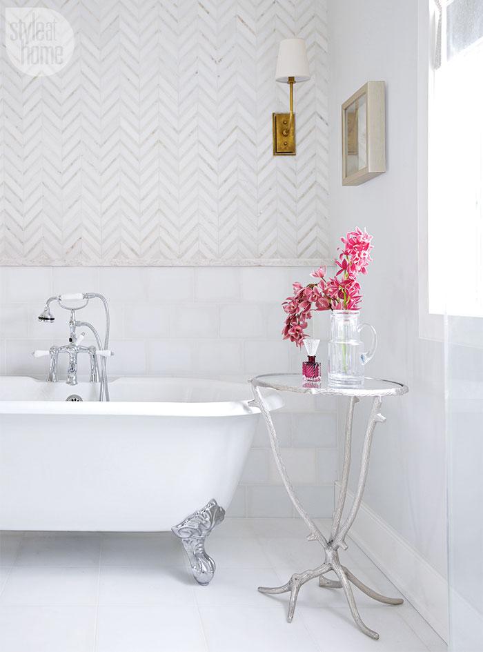Pink Feminine Glamorous Bathroom