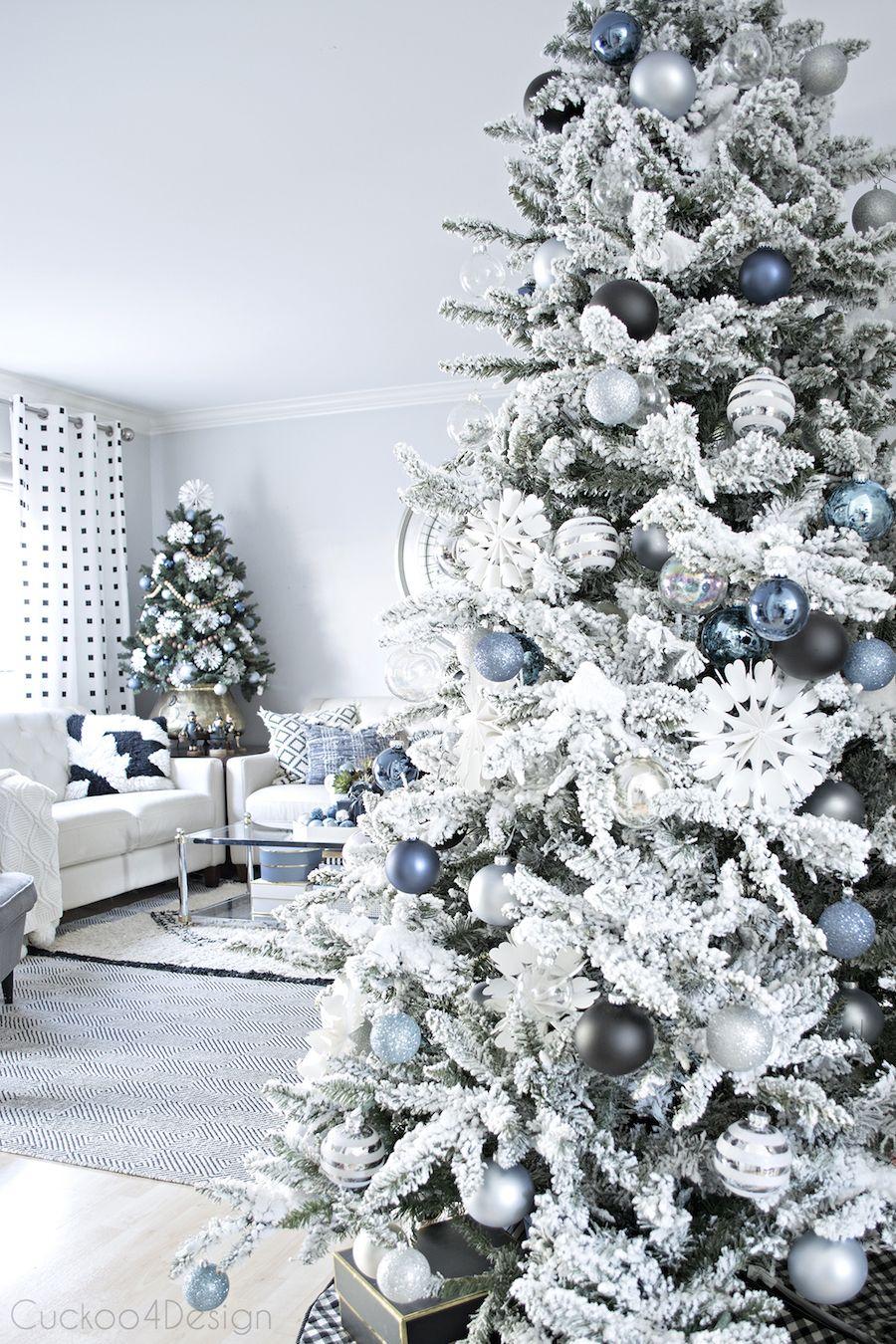 Two Christmas Trees Home Tour via Cuckoo 4 Design