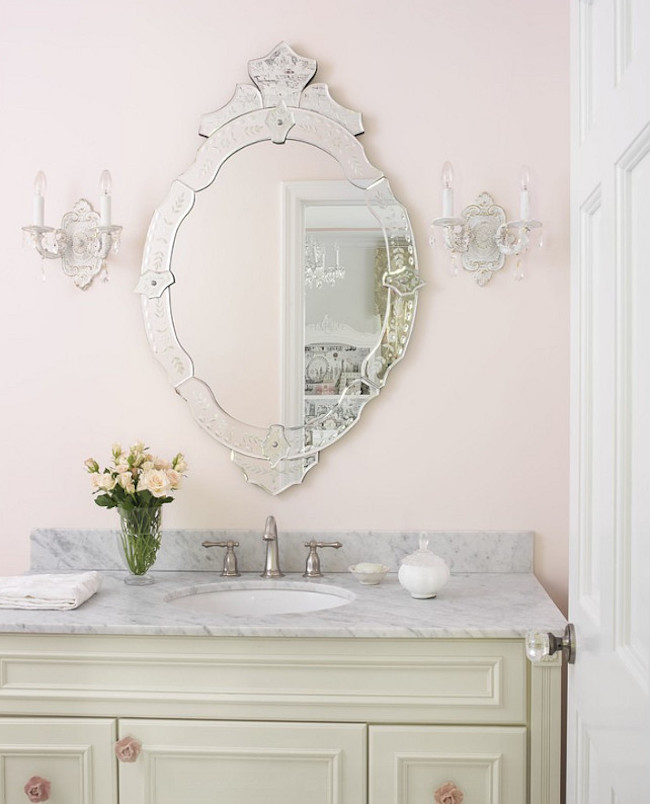 Venetian Mirror via Amy Studebaker Design