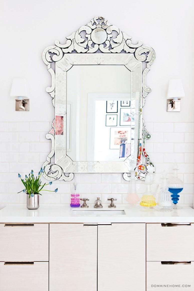 Venetian Mirror via Domaine