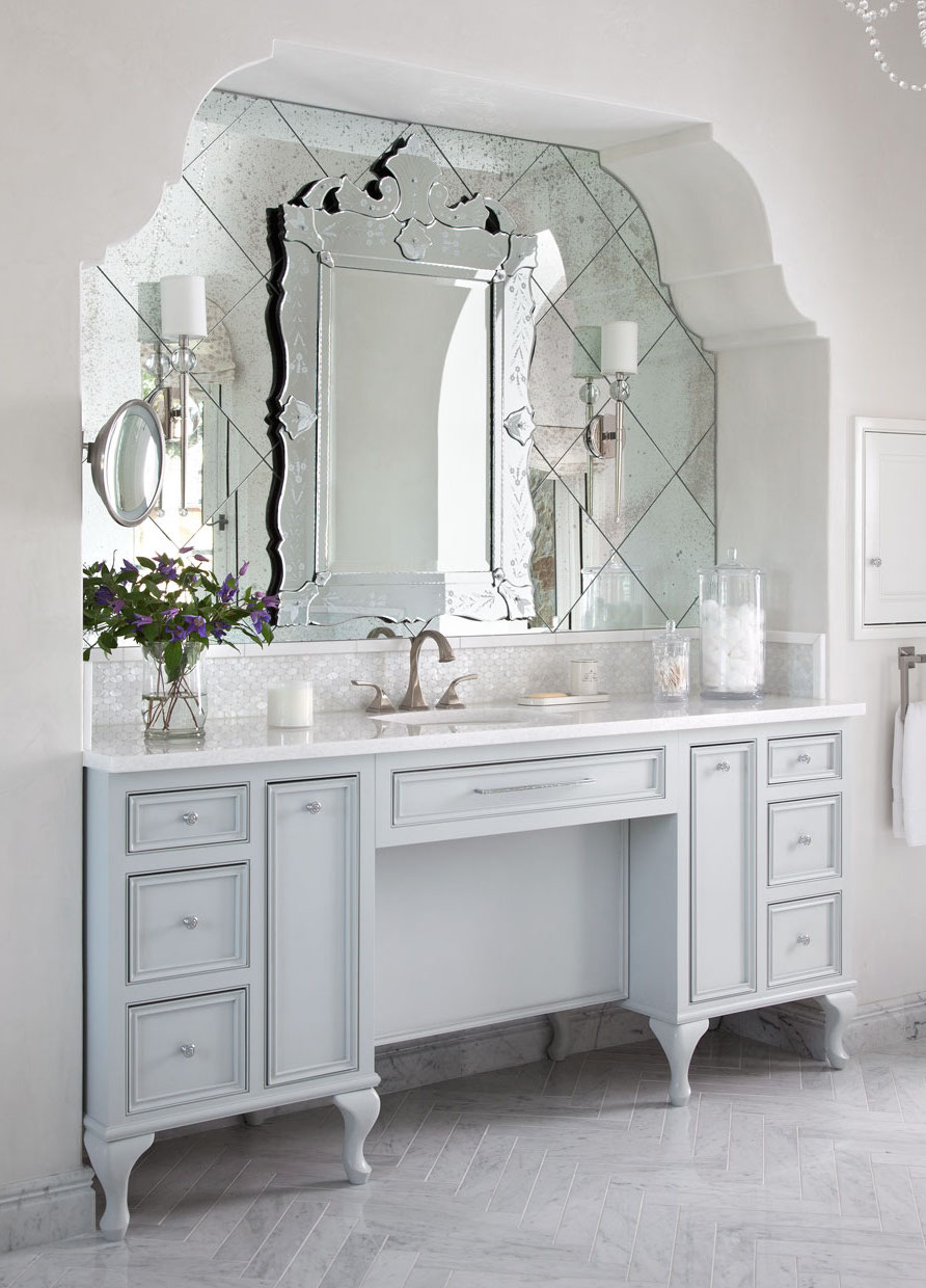 Venetian Mirror via Heather Scott Design
