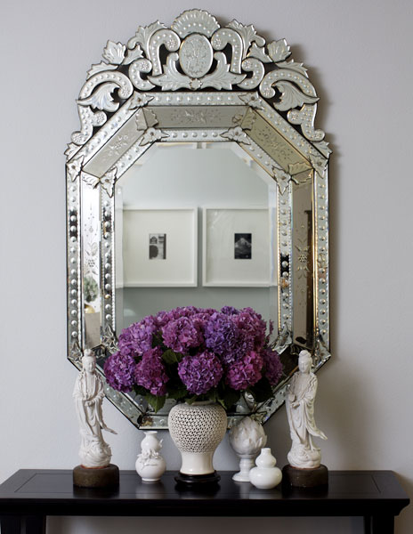 Venetian Mirror via Jenn Feldman Designs