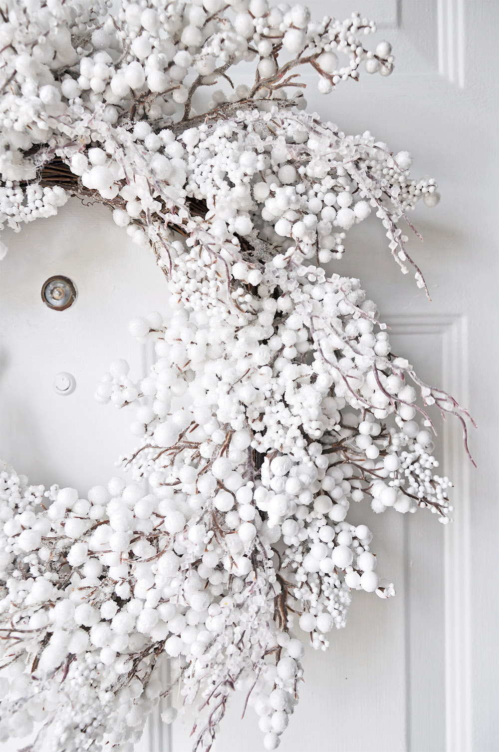White Sparkle Wreath