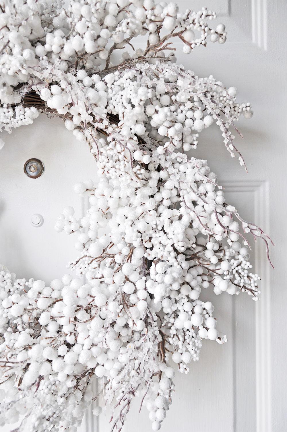 White Sparkle Wreath